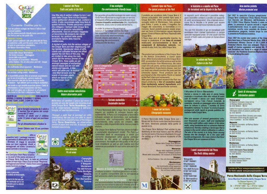 Cinque Terre Information