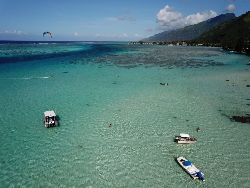 Kite Surfing Moorea
