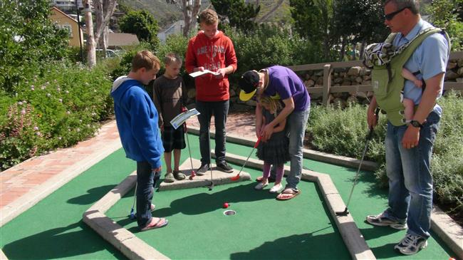 Mini Golf on Santa Catalina Island