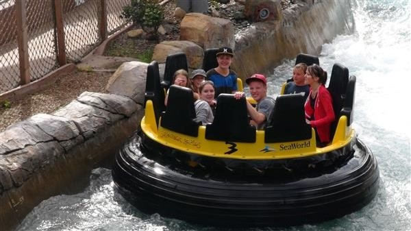 Seaworld Rapids
