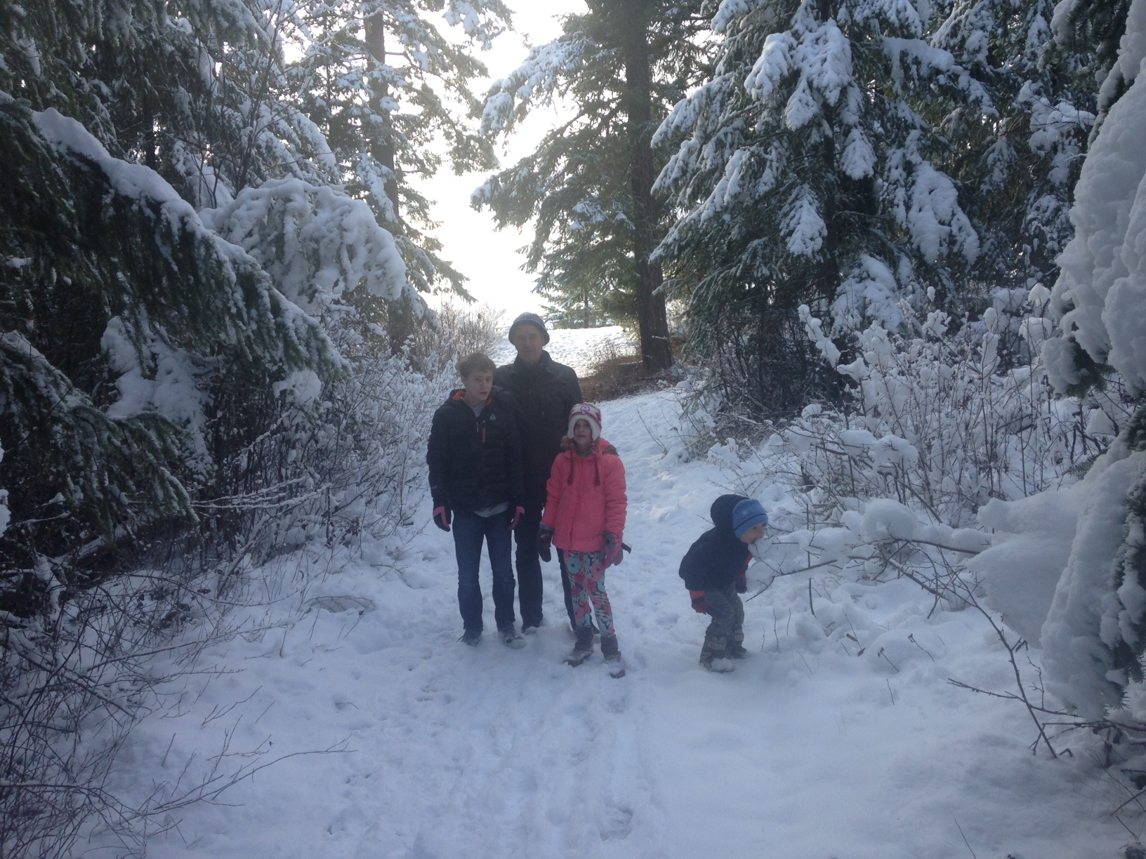 Family Snowman Road Trip to Quesnel, BC